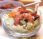 Рецепт Салат-коктейль из креветок и авокадо.